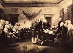 Foto firma Constitución Americana