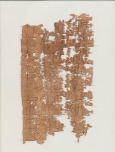 Carta de soldado egipcio